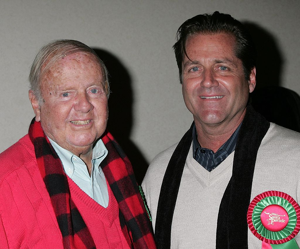 Dick Van Patten and James Van Patten arrive for the 2007 Hollywood's Santa Parade | Getty Images