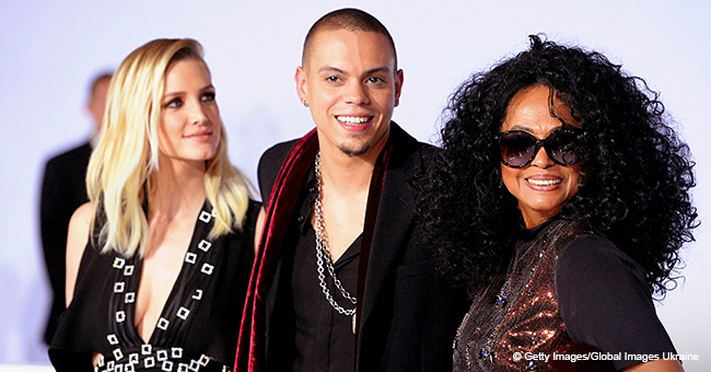 Diana Ross' Son Evan, Wife Ashlee Simpson, Daughter Rock Floral Looks (Photo)