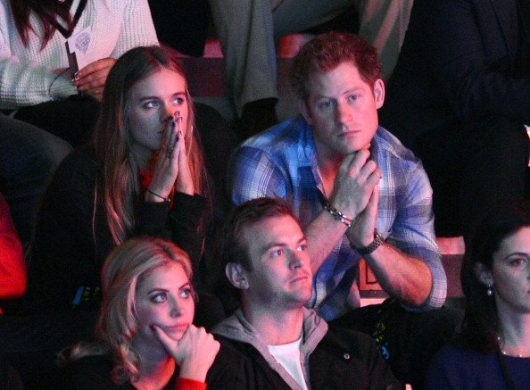 Cressida Bonas and Prince at Wembley Arena on March 7, 2014 in London, England  | Photo: Getty Images