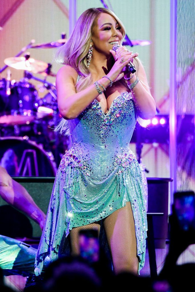 Mariah Carey performs onstage during the the Caution World Tour at Fox Theater | Photo: Getty Images