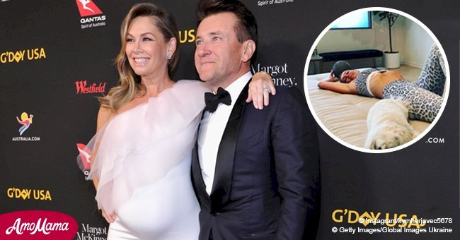 Kym Herjavec stunned fans with her perfect figure just 7 months after welcoming twins