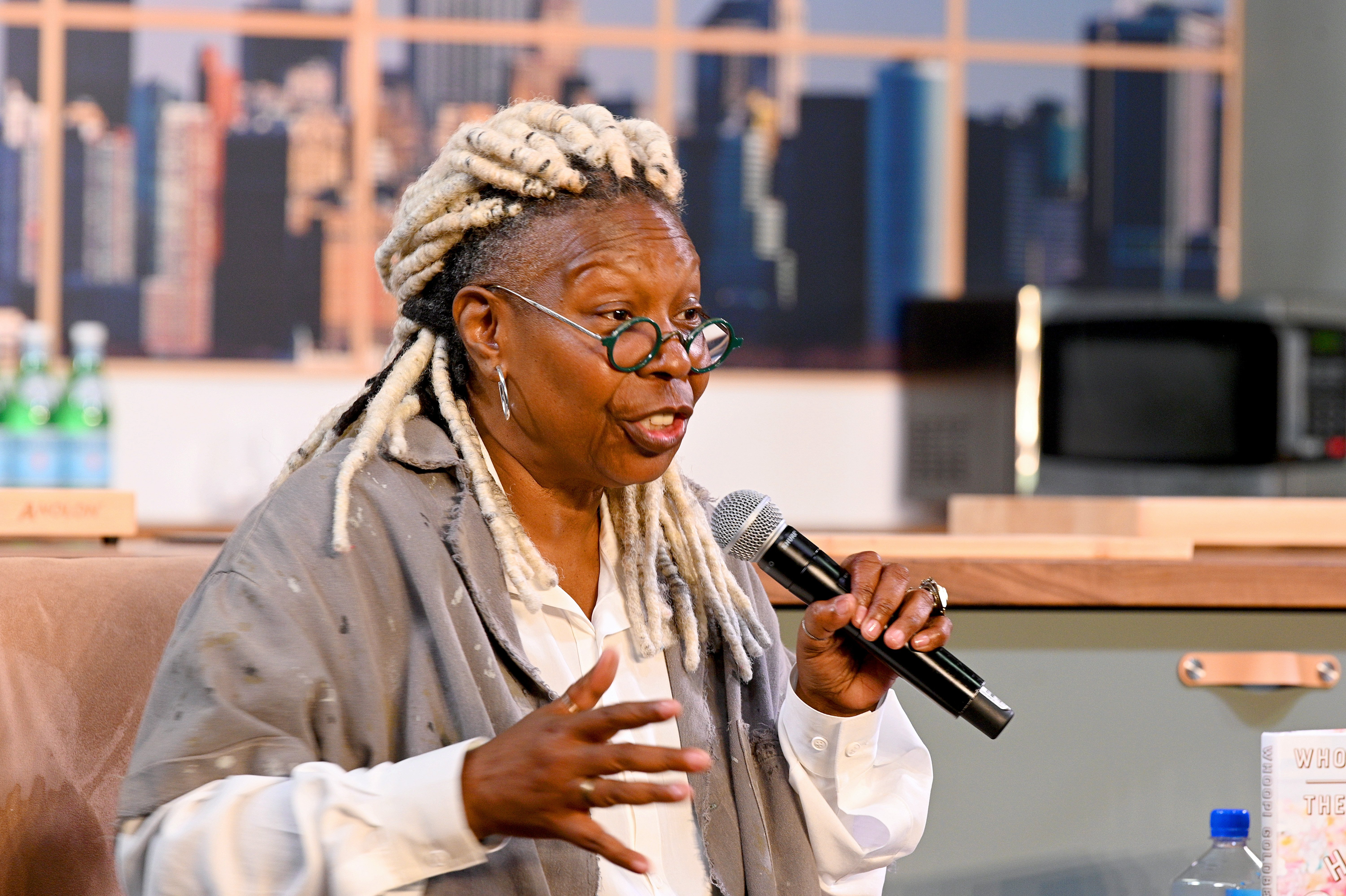 Whoopi Goldberg speaks onstage during the Grand Tasting presented by ShopRite featuring Culinary Demonstrations at The IKEA Kitchen presented by Capital One at Pier 94 on October 13, 2019, in New York City. | Source: Getty Images.