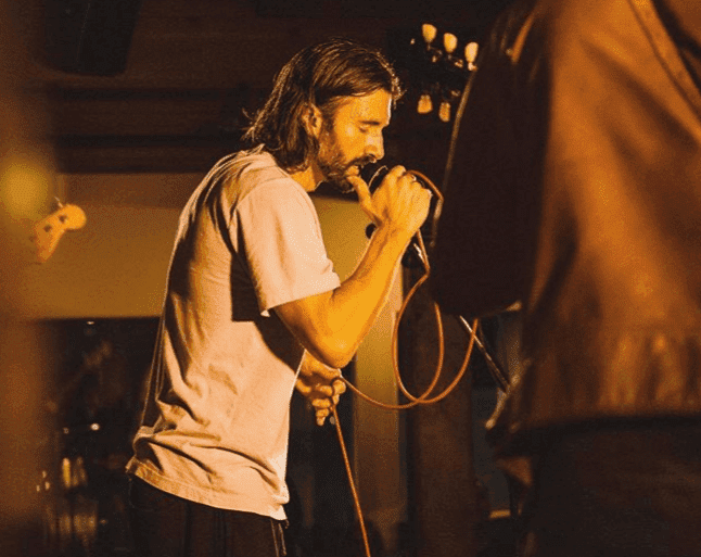 Brandon Jenner on stage in Malibu. | Image: Instagram/BrandonJenner