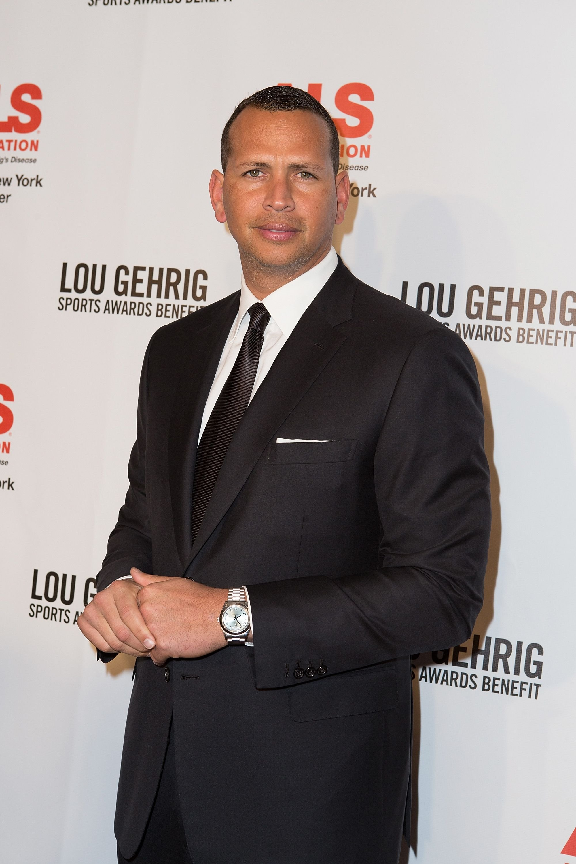 Alex Rodriguez during The ALS Association Greater New York 21st Annual Lou Gehrig Sports Awards Benefit at The New York Marriott Marquis on November 4, 2015 in New York City. | Source: Getty Images