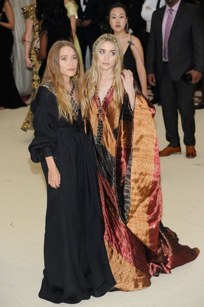 Mary-Kate Olsen and Ashley Olsen attends Heavenly Bodies: Fashion & The Catholic Imagination Costume Institute Gala a the Metropolitan Museum of Art in New York City. | Source: Getty Images