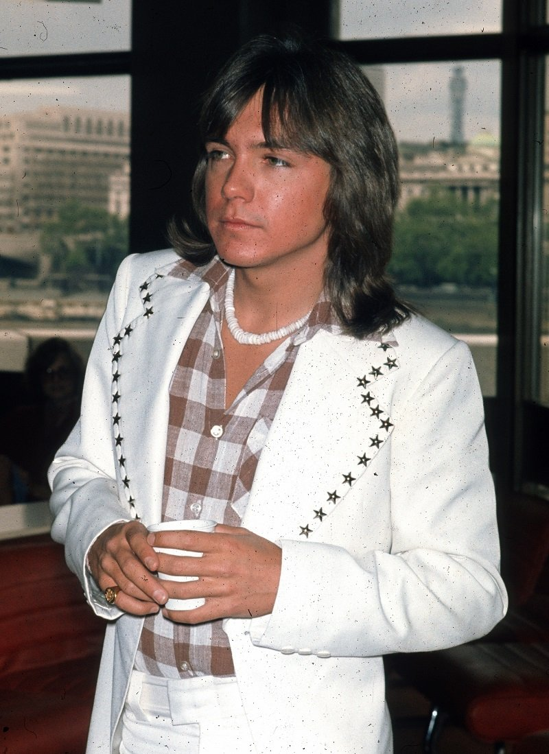 David Cassidy am 25. Mai 1974 in London, England. | Quelle: Getty Images