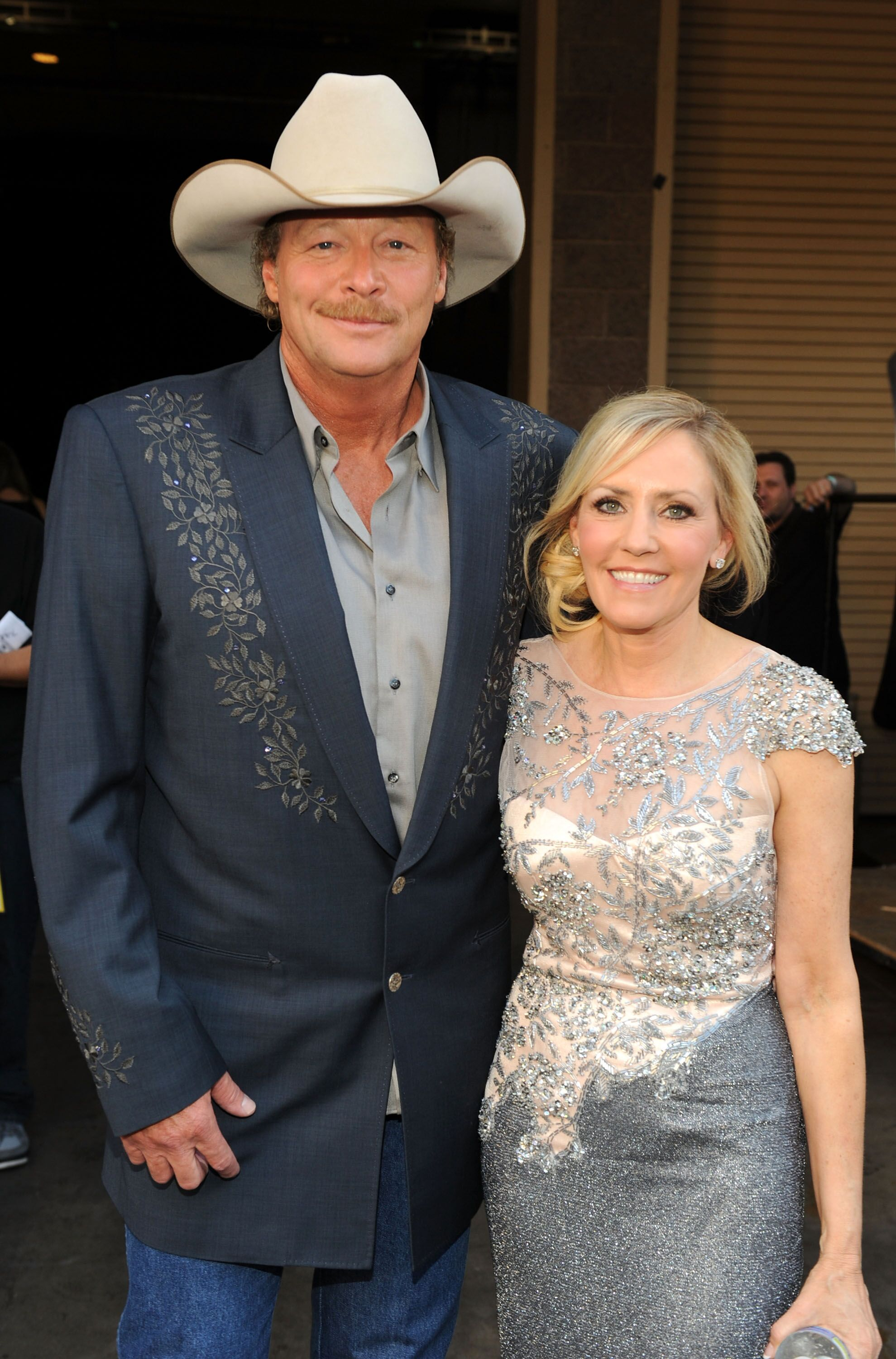 Alan Jackson and Denise Jackson at the 46th Annual Academy Of Country Music Awards held at the MGM Grand Garden Arena on April 3, 2011 in Las Vegas, Nevada. | Source: Getty Images