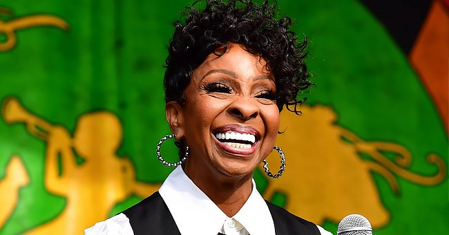 Check Out This Stunning TBT Photo Gladys Knight's Husband Shared of Her in an Embellished Dress