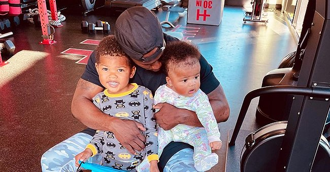 Kevin Hart Hugs Son Kenzo & Daughter Kaori Dressed in Cute PJs —  See Their Strong Resemblance