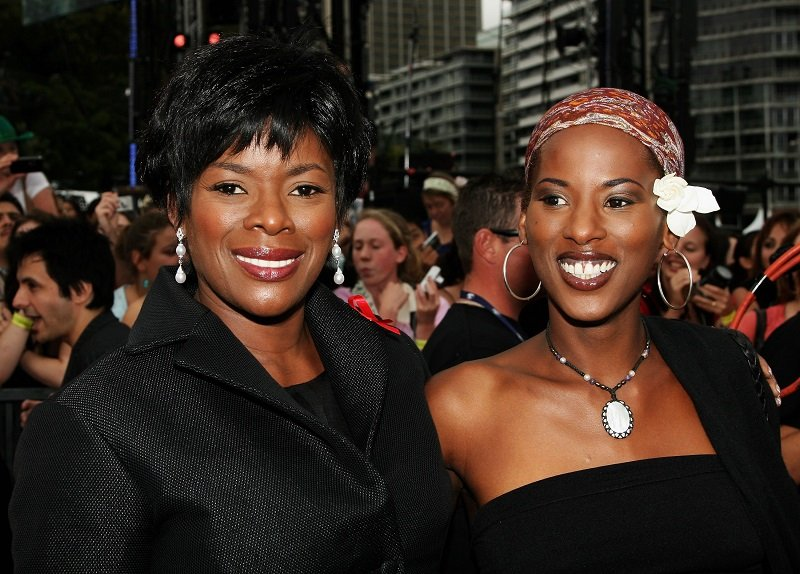 Marcia Hines and daughter Deni Hines on November 26, 2006 in Sydney, Australia | Photo: Getty Images