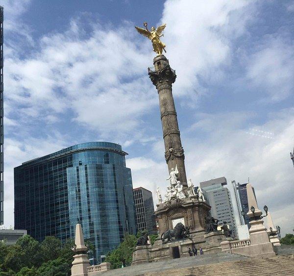 El ángel, símbolo de la Independencia de México.| Fuente: Wikimedia Commons