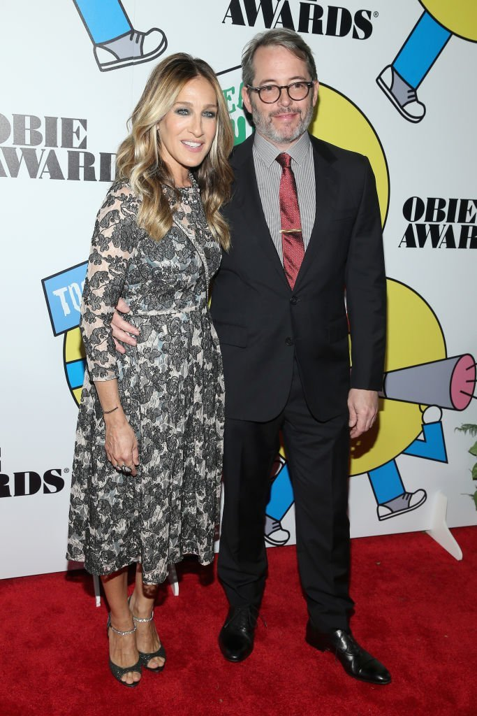 Sarah Jessica Parker and Matthew Broderick attend at the 2017 Obie Awards at Webster Hall | Photo: Getty Images