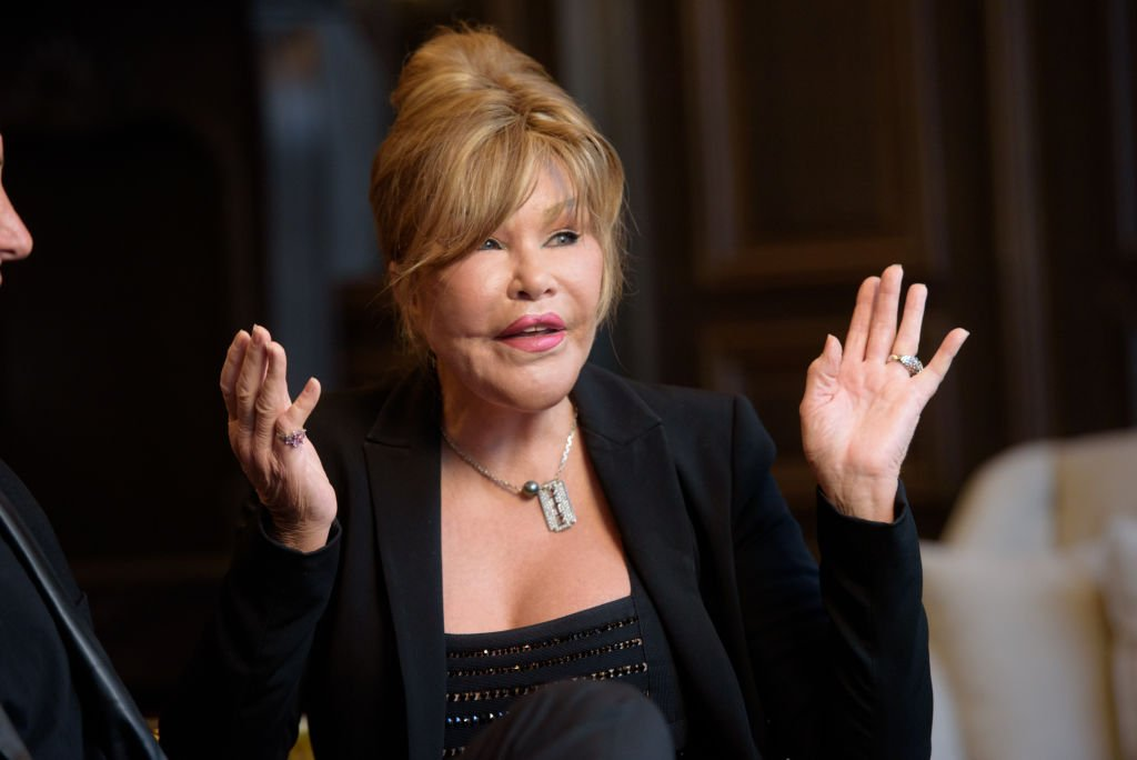 Jocelyn Wildenstein discusses her engagement to Lloyd Klein at Baccarat Hotel on August 5, 2017 in New York City. | Source: Getty Images