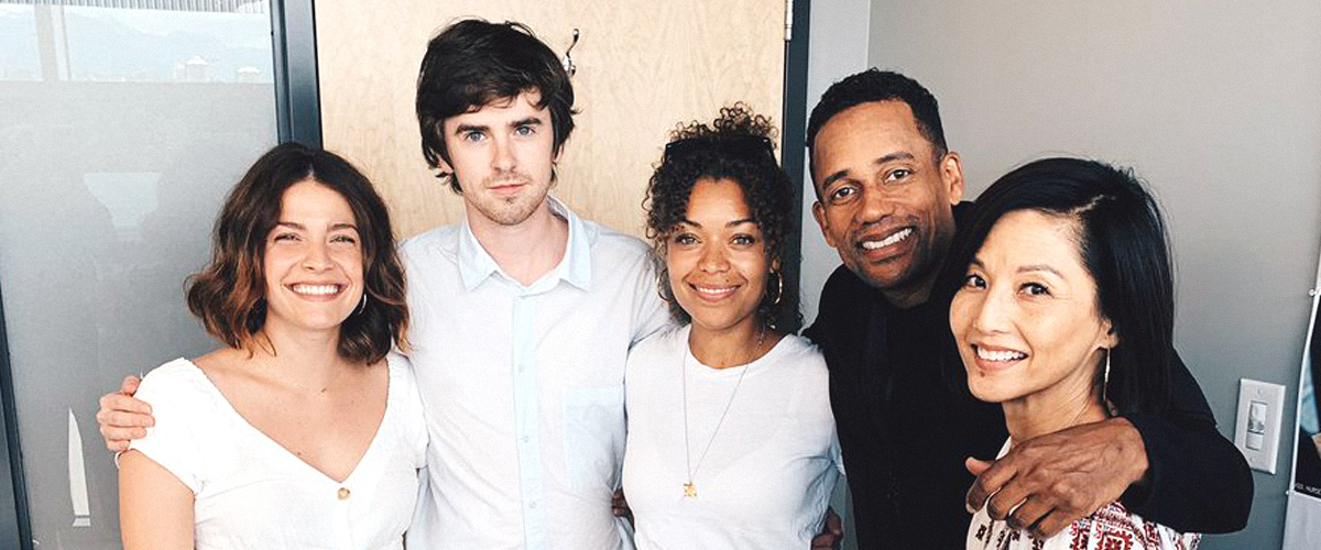 'Good Doctor' Cast Gathers for Season 3 in a New Photo, and Freddie Highmore Has a Beard