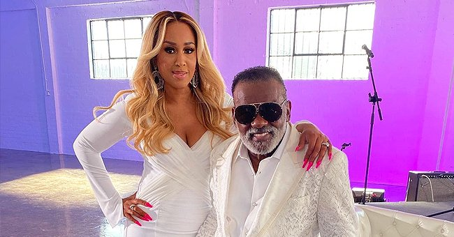 Ronald Isley of The Isley Brothers' Younger Wife Shows off Her Figure in a Tight Dress in New Pics