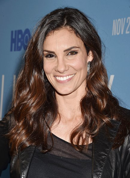 """Daniela Ruah attends the premiere of HBO's """"Lindsey Vonn: The Final Season"""" at Writers Guild Theater on November 07, 2019 in Beverly Hills, California 