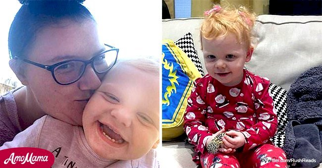 Kids shouldn't open doors to strangers, but if this 2-year-old behaved, her mom might have died