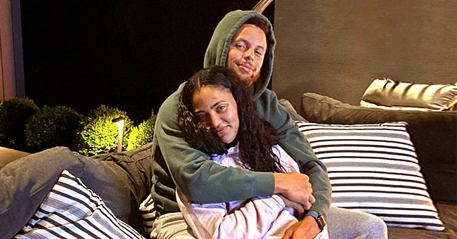 Ayesha and Steph Curry Get Cozy on a Couch Showing Their Love for Each Other (Photos)