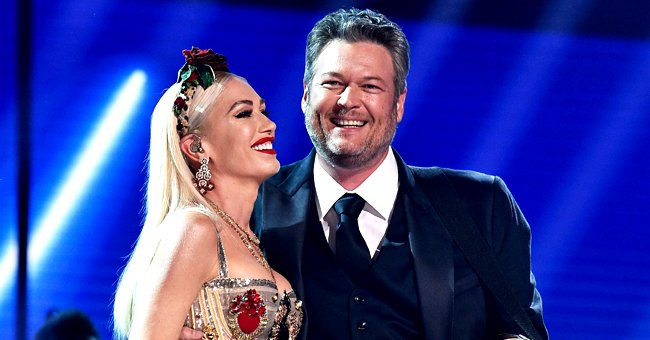 Blake Shelton Shows His Award From the CMT & Says He's Thankful for Gwen Stefani's Contribution