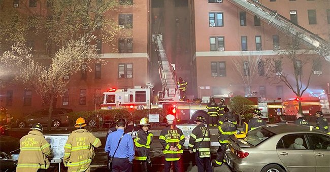 Massive Fire In New York — 90 Families Displaced, 21 People Injured, Including 16 Firefighters