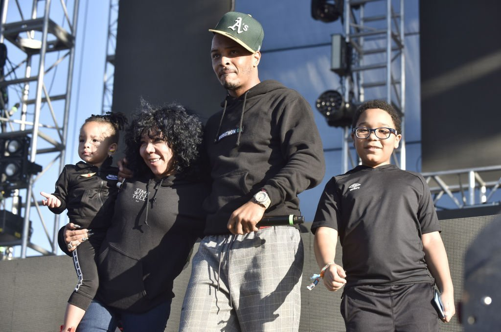 T.I. performs with his family onstage during the 2019 Audiotistic Festival at Shoreline Amphitheatre in Mountain View, California | Photo: Getty Images