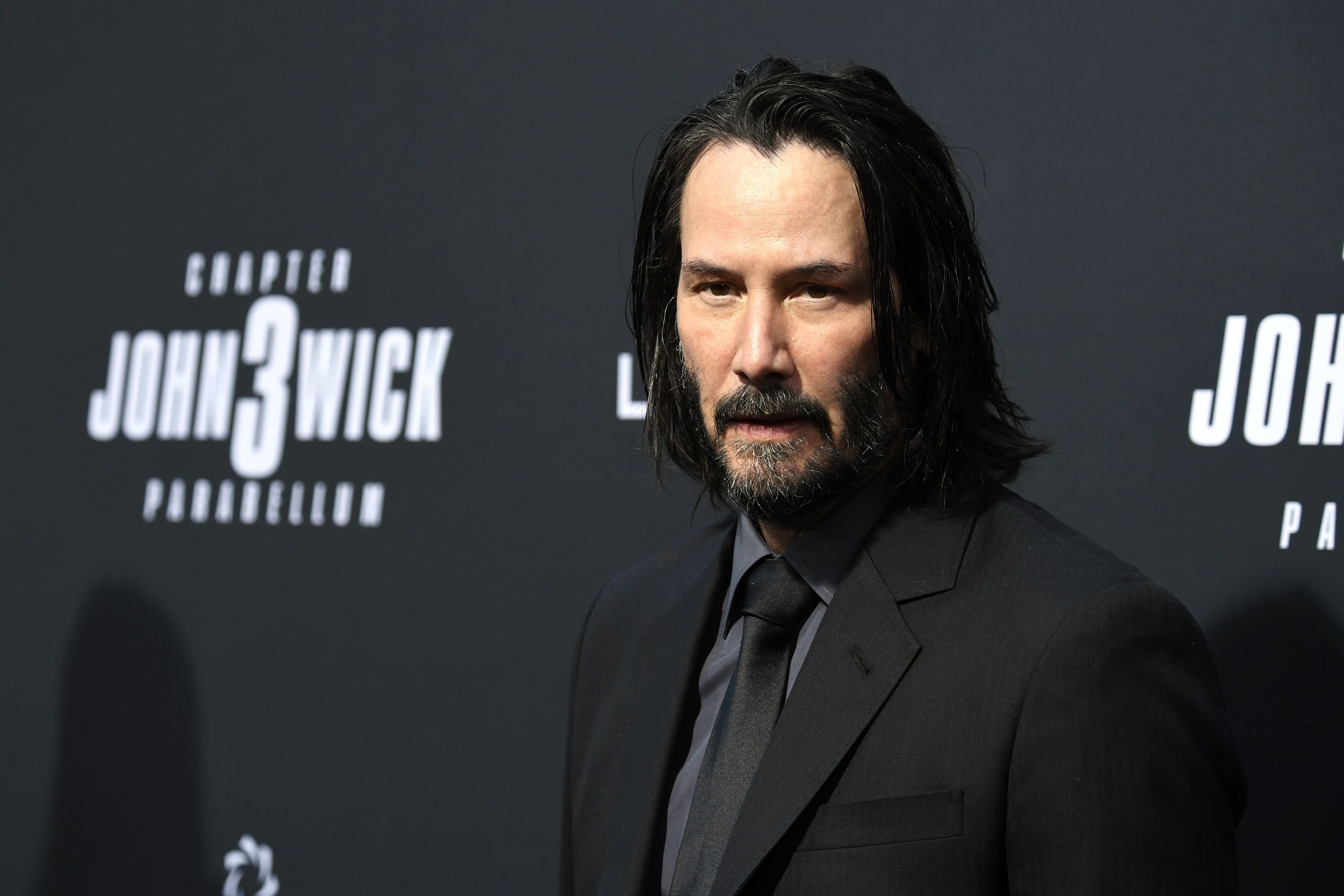 "Keanu Reeves attends the special screening of Lionsgate's ""John Wick: Chapter 3 - Parabellum."" 