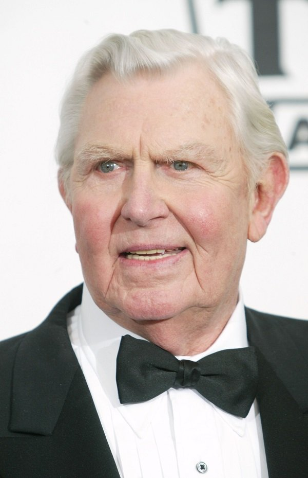 Andy Griffith on March 7, 2004 at The Hollywood Palladium, in Hollywood, California | Source: Getty Images