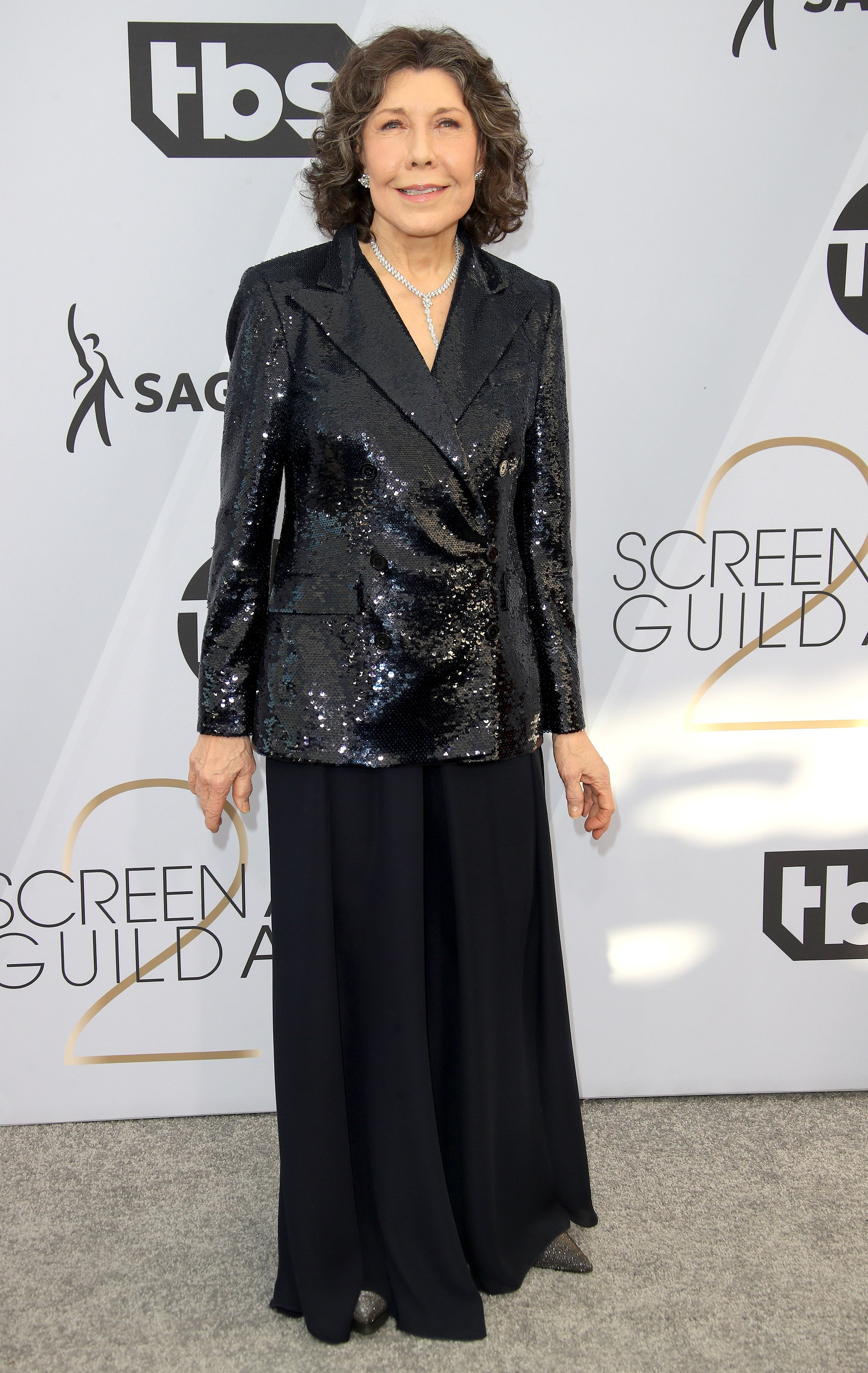 Lily Tomlin attends the 25th Annual Screen Actors Guild Awards at The Shrine Auditorium on January 27, 2019. | Source: Getty Images