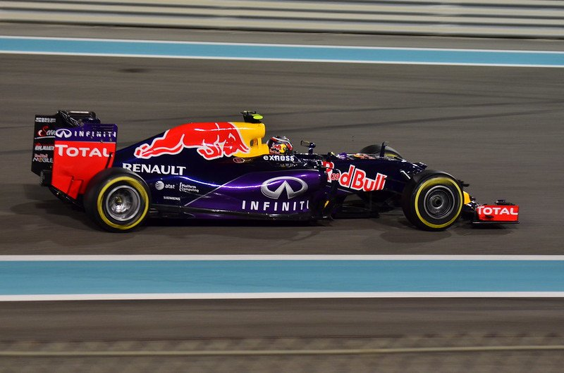 A Red Bull RB11 during the 2015 Formula One Grand Prix in Abu Dhabi. | Photo: Flickr