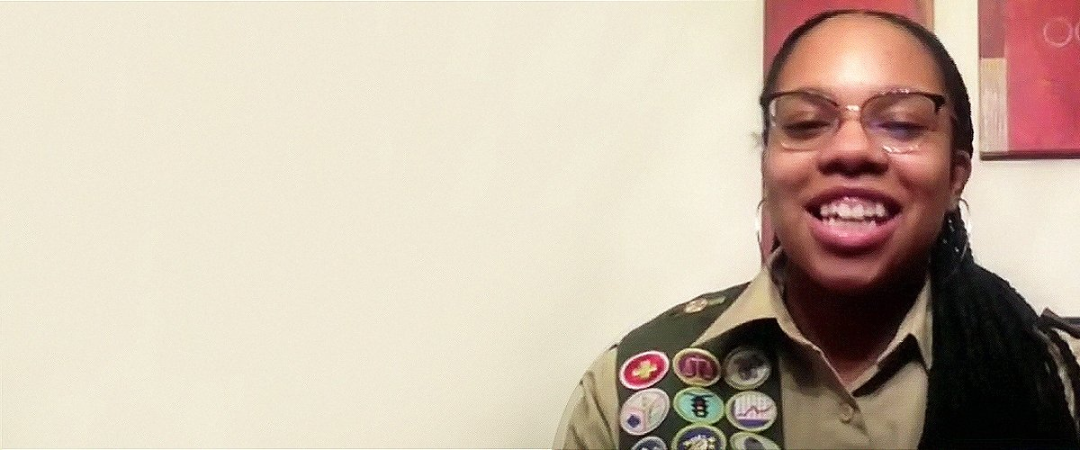 Meet Kendall Jackson, One of the First African-American Female Eagle Scouts