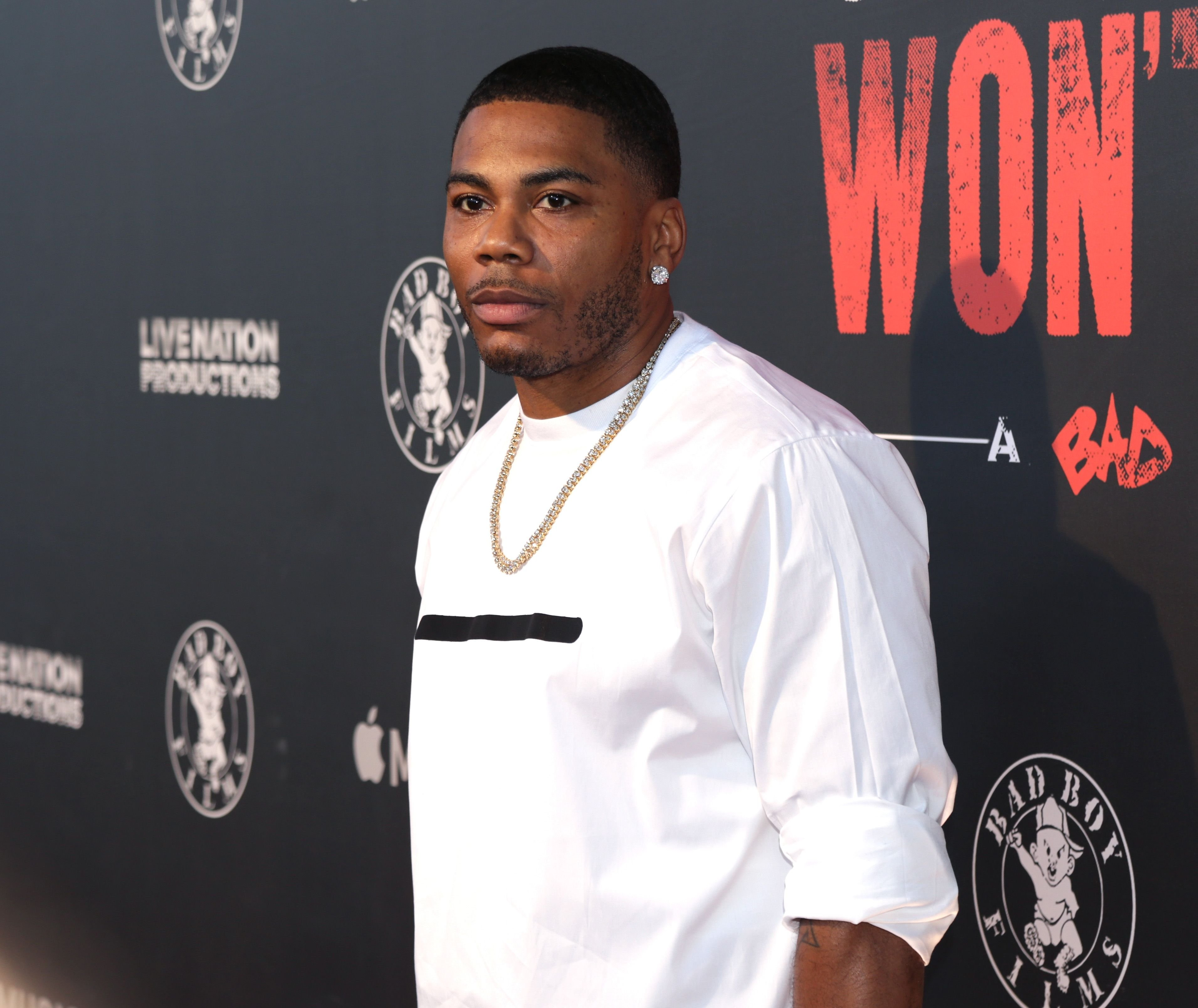 "Rapper Nelly attends the premiere of ""Can't Stop Won't Stop"" on June 21, 2017. 