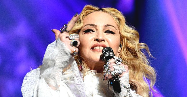 Madonna Spends Quality Time with Twins Estere and Stella as They Decorate Gingerbread House