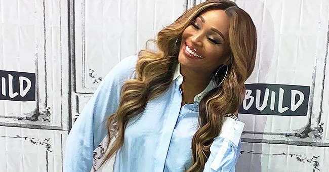 'RHOA' Star Cynthia Bailey Glows in a Blue Top & Tight Jeans after Engagement to Fox Host Mike Hill