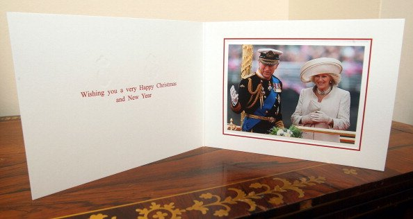 The Christmas card of Prince Charles and Camilla, Duchess of Cornwall in 2012. | Photo: Getty Images