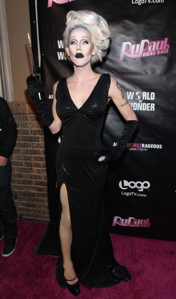 Sharon Needles attends 'RuPaul's Drag Race' season 4 premiere party at Eleven Night Club on January 24, 2012, in West Hollywood, California. | Source: Getty Images.