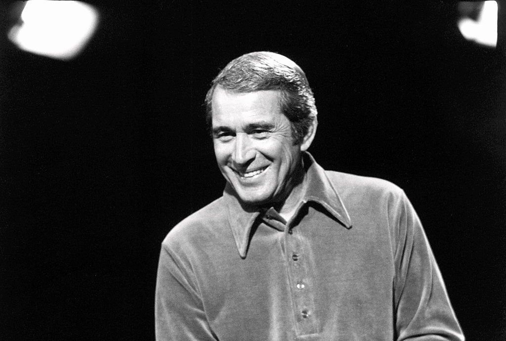 Perry Como appears on a TV show, London | Getty Images