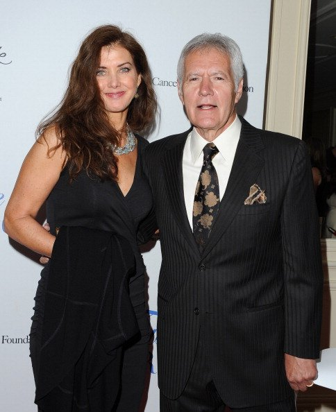 Alex Trebek and Jean Trebek at Regent Beverly Wilshire Hotel on April 25, 2014 in Beverly Hills, California. | Photo: Getty Images