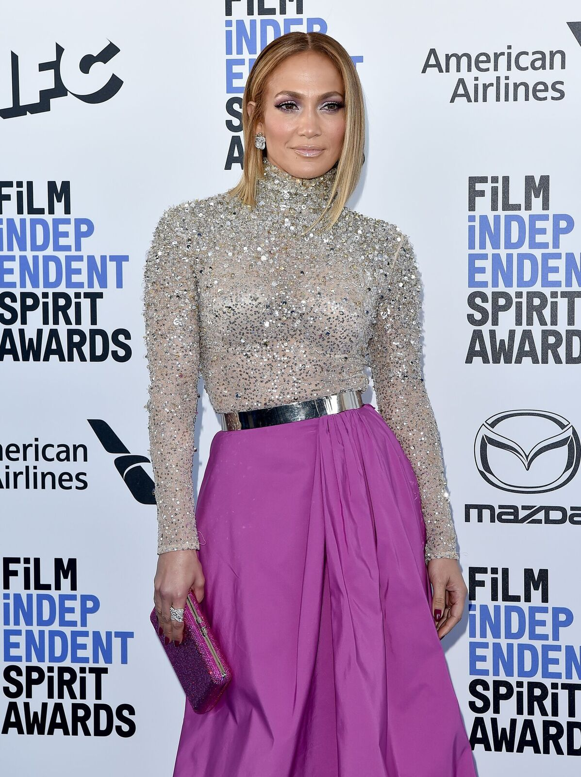 Jennifer Lopez at the Film Independent Spirit Awards on February 08, 2020, in Santa Monica, California | Photo: Axelle/Bauer-Griffin/FilmMagic/Getty Images
