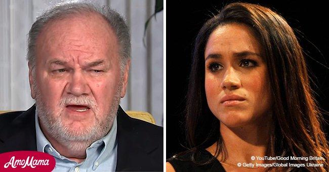 Padre de Meghan Markle lamenta no poder ayudar a su hija en medio de rumores sobre ella y Kate