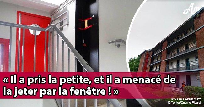 Amiens: Un homme, jaloux de sa petite amie, suspend son enfant de 3 ans à la fenêtre