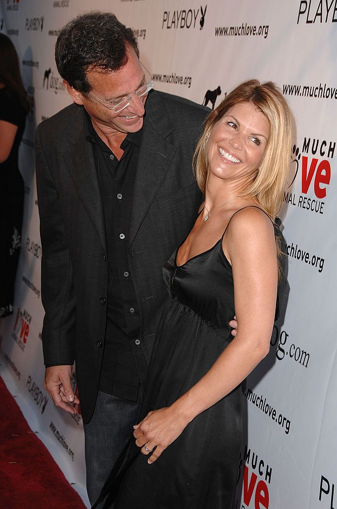 """Bob Saget and Lori Loughlin at the """"Much Love Animal Rescue Benefit"""" at the Playboy Mansion in Beverly Hills, California 