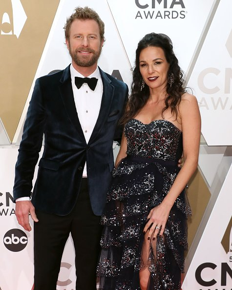Dierks Bentley and Cassidy Black at Bridgestone Arena on November 13, 2019 in Nashville, Tennessee. | Photo: Getty Images