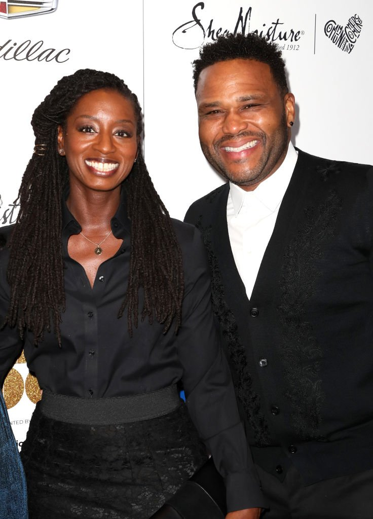 Alvina Stewart (L) and actor Anthony Anderson attend Ebony Magazine's Ebony's Power 100 Gala at The Beverly Hilton Hotel | Getty Images