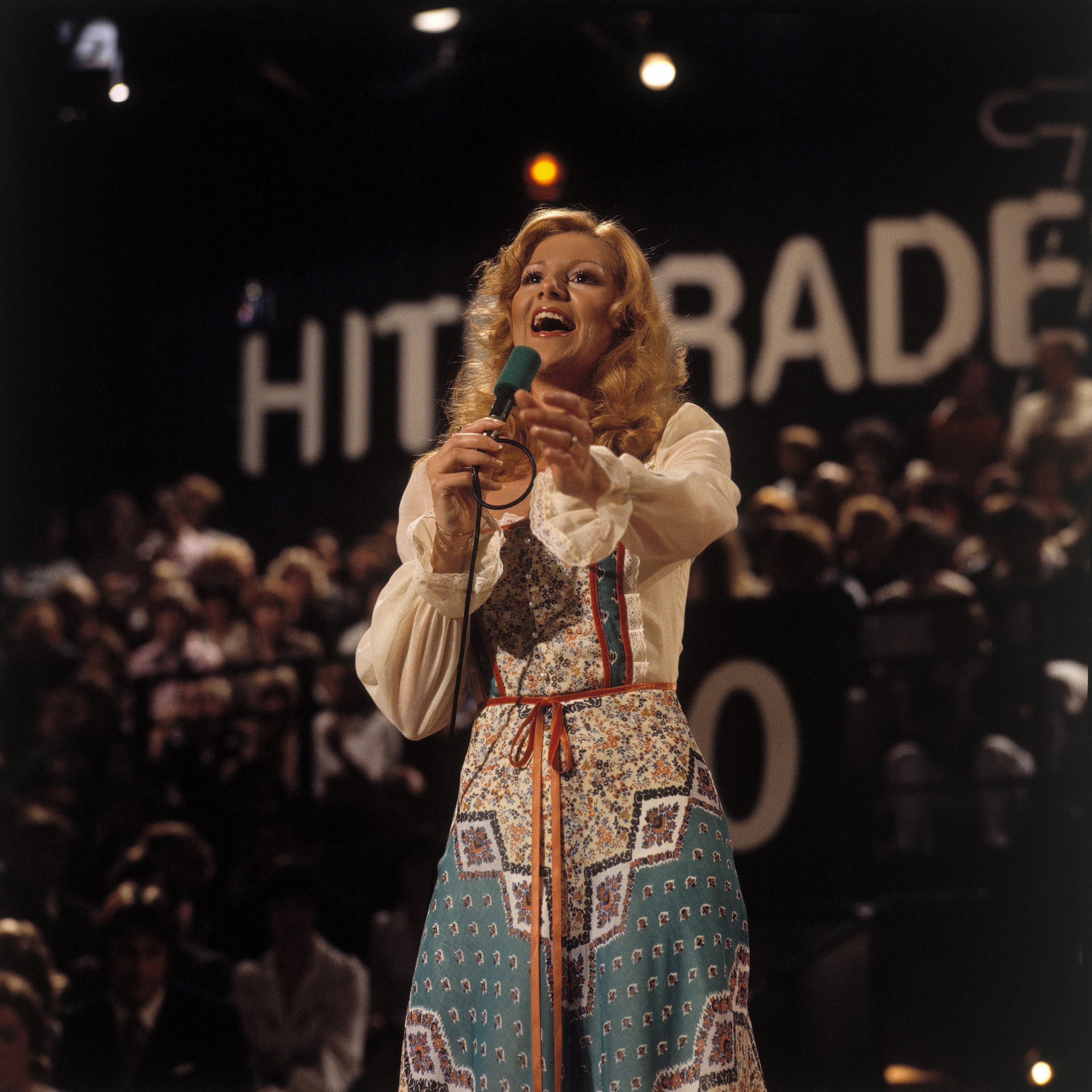 Hit Parade, Peggy March, 1978 | Quelle: Getty Images