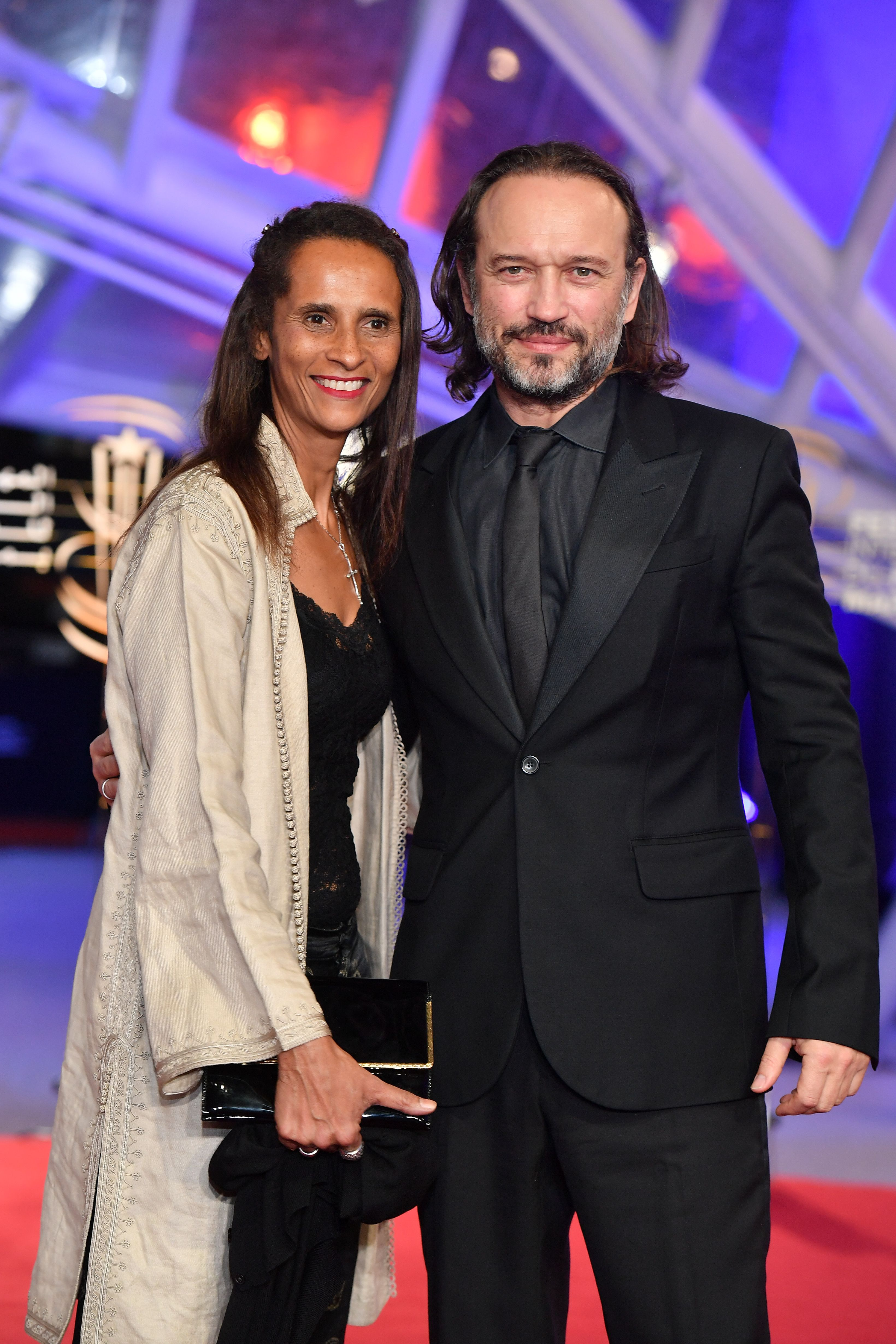 Karine Silla et Vincent Perez assistent à la cérémonie d'ouverture du 17e Festival international du film de Marrakech le 30 novembre 2018 à Marrakech, au Maroc. | Photo : Getty Images