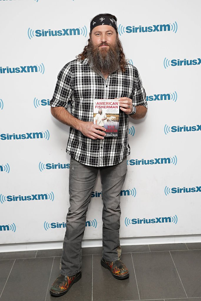 Willie Robertson visits the SiriusXM Studios. | Source: Getty Images