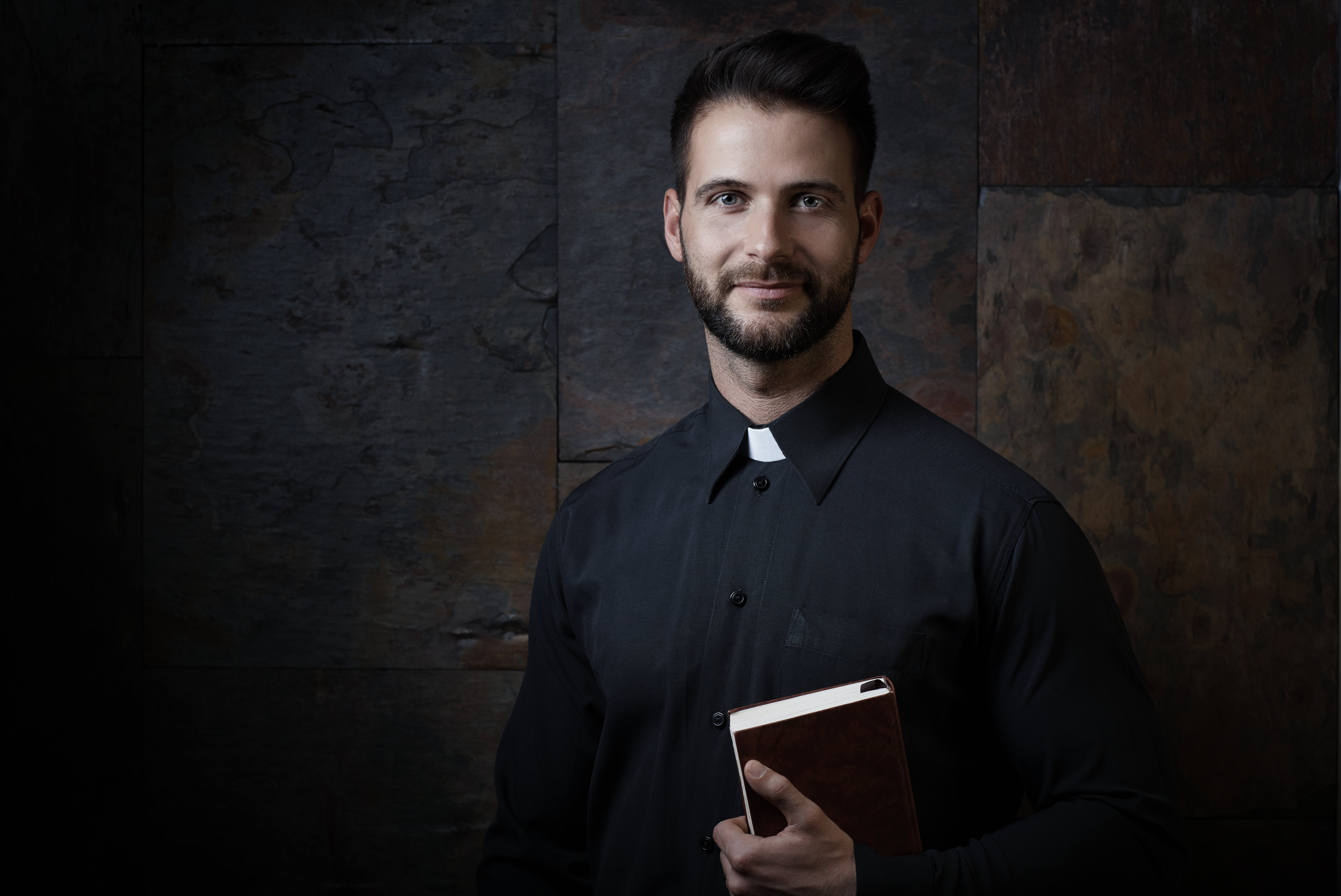 A priest. Image credit: Shutterstock.