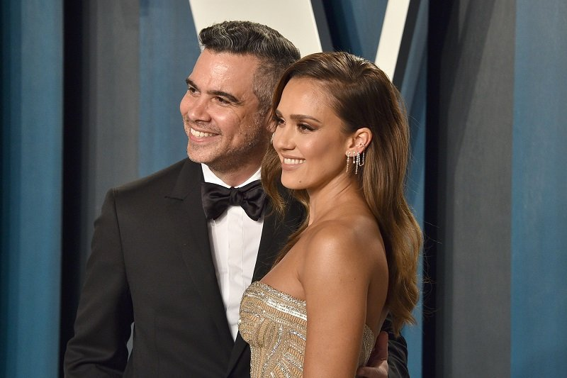 Cash Warren and Jessica Alba on February 09, 2020 in Beverly Hills, California   Photo: Getty Images