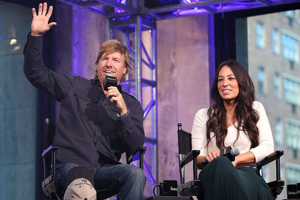 "Chip Gaines and Joanna Gaines appear to promote ""The Magnolia Story"" during the AOL BUILD Series at AOL HQ 