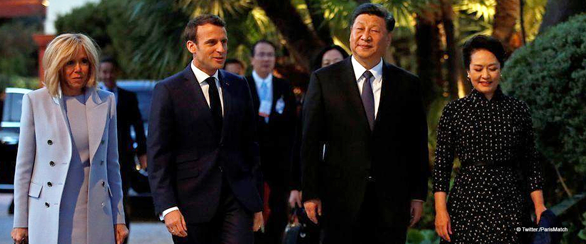 Brigitte Macron : le symbolisme caché du costume qu'elle portait pour rencontrer le président chinois